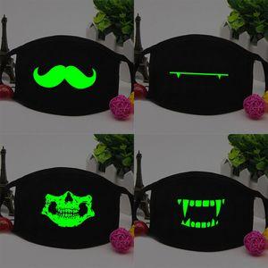 Halloween Licht Airsoft Maske Luminous Glowing Flash Cosplay Masken Mascaras Disfraces Karneval Party Supplies Christams Decor