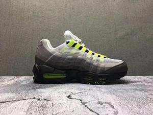 95 NEON solaire tirette rouge chaussures de course 95 sliver bullet sneaker top qualité avec chaussures formateur boîte livraison gratuite