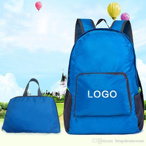 Waterproof Lightweight Folding Backpacks Portable Foldable Customized Bag Students Large Capacity Portable School Backpacks BH1600 TQQ