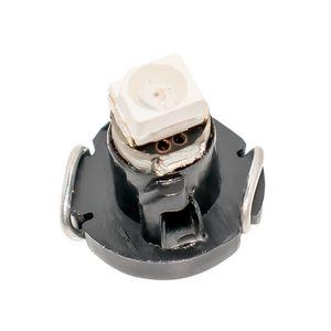 100X T3 네오 웨지 자동차 계기판 패널 램프 게이지 LED 전구 AUTO 대시 보드 보온 표시 등 적색 청색 녹색 황색