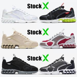 2020 de calidad superior Hombres Mujeres zoom Spiridon jaula 2 zapatillas deportivas Triple blanco Limón Venon arena zapatillas deportivas rojas cardinales