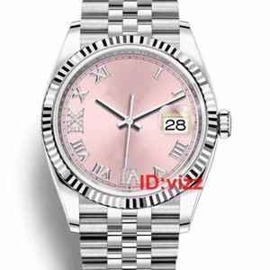 Top Luxury Watches 36mm Datejust Automatic Mechanical movement JUBILEE Bracelet Womens Mens Diamond designer Wristwatches Watch