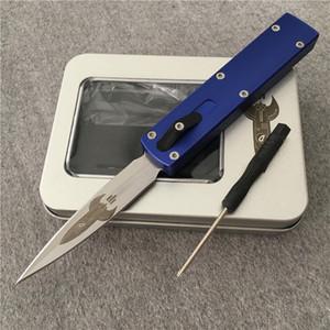 """Zulu Otomatik bıçak D Roket Tasarım M390 2.85"""" Saten Bıçak Darriel Caston Tasarım Alüminyum alaşımı Mikro MT Tech bıçak UT70 UTX-70 En bıçaklar"""