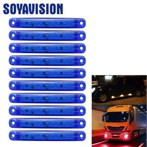 Fragman için Işık Araç Fragmanlar Bus için 12 / 24v led Marker Kamyonet 24v Side Marker Lights açtı