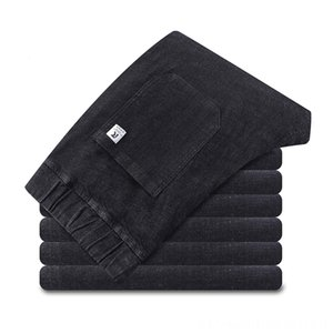 8xl 6xl New Mens Casual High Elastic Cotton Straight Trousers New Plus Size Fashion Men's Jeans Men's Clothing Male Jeans Big Size