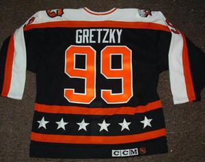 Cheap custom WAYNE GRETZKY 1990 All STAR GAME HOCKEY JERSEYS Men Personalized stitching jerseys XXS-6XL 5XL 4XL 3XL