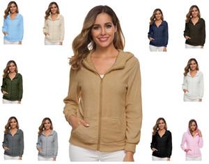 Femmes imitation laine à capuche Veste polaire Osito Manteau Mode souple polaire chaude Coats extérieur Blouson femme tenue S-5XL