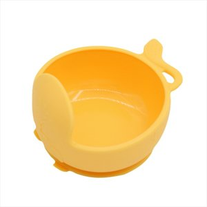 تغذية الطفل شفط لوحة BPA سيليكون مجانا طفل السلطانية الرضع FDA الصف غير تحديد الموقع زلة