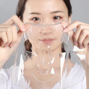 جديد 7 قطعة / صندوق الكولاجين البروتين جوهر قناع الوجه العناية بالبشرة الوجه قناع ترطيب ترطيب قناع هلام شفاف