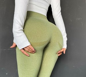 Yoga Leggings Sport Pants Women Fitness Energy Seamless Gym Leggings High Waist Hollow Out Sexy Push Up Running Tight Y200529