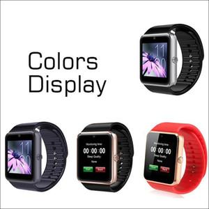 GT08 Bluetooth relógio inteligente Cartão Com SIM slot e NFC Saúde para Android Samsung E Smartphone Bracelet pacote completo