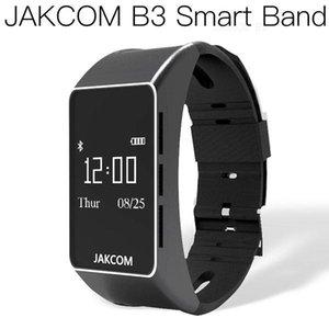 Reloj elegante JAKCOM B3 venta caliente en pulseras inteligentes como MP4 películas móvil barco cometa umidigi uwatch2