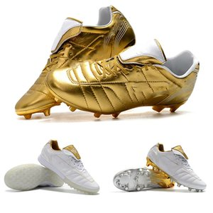 2019 mens hot soccer shoes Tiempo Legend 7 R10 Elite TF IC FG indoor soccer cleats outdoor football boots scarpe calcio xshfbcl