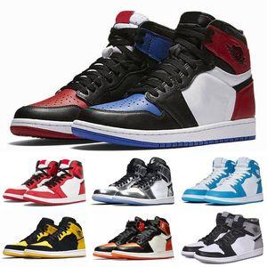 2019 1 Top3 Chicago Crystal Kiefer Grün 1s Shadow Solefiy Herren Basketball-Schuhe Retro High OG NRG Nicht für den Wiederverkauf Union x NRG Jumpman Sneaker