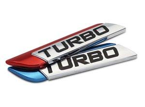 Car Decal 3d Metal Turbo Turbocharged Car Sticker Logo Emblem Badge Decals Car Styling Diy Decoration Accessories For Frod Bmw Vw