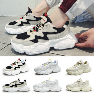 Mens casual Shoes Cool Black white Fashion Creepers dad High Quality Men Women Running Trainer sports Sneakers 39-44