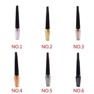MISS ROSE neue wasserdichte Glitter Eyeliner-Flüssigkeit Lidschatten Long Lasting Eye Gloss Kosmetik Make-up Eyeliner 7402-042W