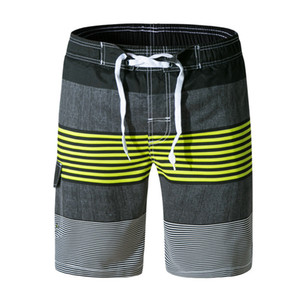 Shorts da placa Dos Homens Calções de Praia Da Marca de Secagem Rápida Homens Calças Curtas plus size swimwear Boardshort sungas de praia homens 2018 1505