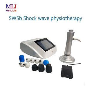 choque de tratamiento equipos portátiles terapia de ondas de dolor para el salón de belleza y uso en el hogar