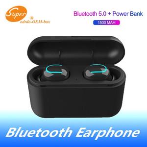 Cuffie senza fili Bluetooth 5.0 Q32 o 2 ° generazione auricolari Tws vivavoce auricolari Cuffie Sport