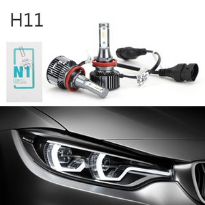 Areyourshop Car For Pair H8 H9 H16 12V26W 5500K Car LED Auto Headlight Front Fog Light Lamp Bulb Car Auto Accessories Parts