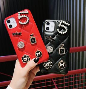 diseñador de lujo clásico caso del iphone 11 IphoneXSMAX XR XS Iphone7P 8P Iphone7 8 6P marca 6 de la moda caja del teléfono de protección de la cubierta completa