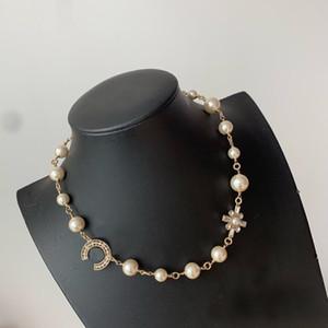Populäre Art und Weise Hoch Version C Designer Halskette für Dame Design Frauen-Partei Hochzeit Liebhaber Geschenk Luxus-Schmuck für die Braut mit KASTEN ..