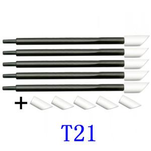 T-21 T-11 Rubystick mousse bâton propre unité de coton pour Epson DX2 DX4 DX5 tête Mimaki tête d'impression Roland Mutoh 100pcs propres