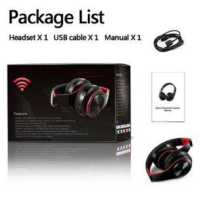 Wireless-Kopfhörer Stereo Bluetooth Headsets faltbare Kopfhörer-Animation angezeigt Unterstützungs-TF-Karte Build-in MIC 3,5 mm Klinke für HUAWEI