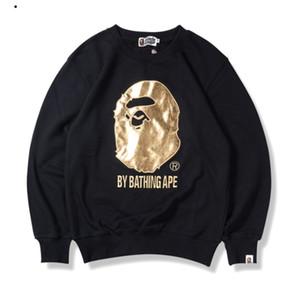 20SS новые горячие продажи мужская женская толстовка толстовки полоса мода с длинным рукавом пуловер повседневная блузка работает высокое качество Оптовая B101596Q