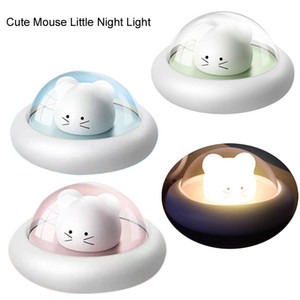 Cartoon LED night Creative Kids Bedside Table Mouse Cute mouse Baby Sleeping Light Children Gift Baby Nursing night lamp