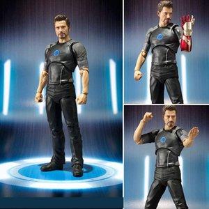 15 cm Demir adam Avengers Tony Stark Örümcek-Adam: Homecoming Anime Pvc Eylem Oyuncak Rakamlar Modeli Koleksiyonu Ultron Hulkbuster