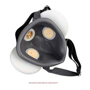 Poussière masque à haute efficacité Gas Protection Masque anti-buée Haze industriel anti-poussière Masque Respiratoire extérieur domestique mâle