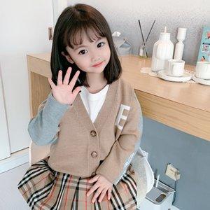 2020 Yeni Bahar Kız Örme Hırka Triko Bebek Boys Kız Kazak Çocuk Giyim Çocuk Sonbahar Boy Giyim Kış