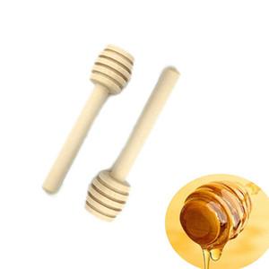 8 centimetri Honey Dipper Bastoncini di legno mini miele bastone di miele Dippers 3 pollici portatile da tavola di Nizza regalo per la famiglia Amici e Colleghi