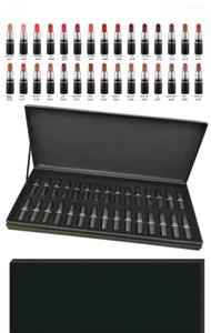 M Maquillaje tamaño mini LOOK IN A BOX Lápices labiales Lápiz labial mate para labios impermeable 30 colores 1set = 30pcs 1set / lot