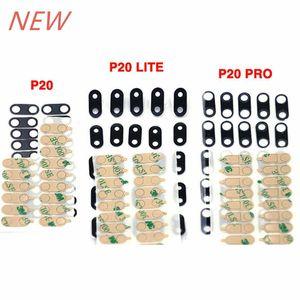 OEM Nuevo No Any Scrared Rear Back Camera Lente de vidrio + Adhesivo para Huawei P20 / P20 Lite / P20 Pro
