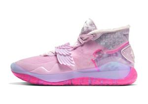 Drop Shipping KD 12 Kevin Duran tante Kay Yow perle Chaussures de sport avec la boîte à chaud Kevin Durant 12 Basketball Chaussures Hommes Chaussures Taille 40-46