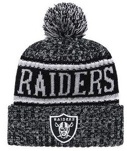 2019 Inverno Oakland Beanie Skull Hats Knitted Beanie Wool Cuffed Sideline Cold berretti sportivi sport Knit Hat Bonnet Warm Hip Hop Cap