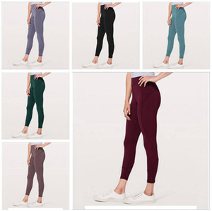Leggings Sport palestra yoga pantaloni di tuta pantaloni in corso asciugatura rapida fitness Collant a vita alta Hip Panty pantaloni pantaloni della tuta pantaloni DYP374