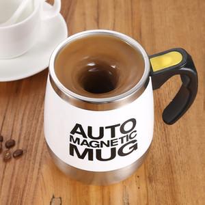 Otomatik Kendinden karıştırma Mug Kahve Süt Mug Paslanmaz Çelik Termal Kupa Elektrikli Lazy Çift İzoleli Akıllı Kupası'nı Karıştırma