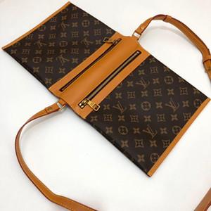 321 dal design di lusso 2020 donne di lusso del progettista della borsa Borse spalla del cuoio genuino Borsa delle donne di alta qualità Famous Brand Tote Bag Handbag