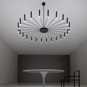 sala de diseño Art LED Lámparas de estar Dormitorio restaurante colgante LED de la lámpara de luz Foyer casa Deco colgantes luminaria Luminaria
