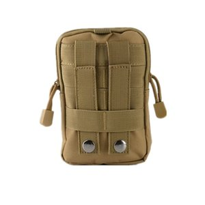 Tactical Universal Holster Military Molle Hip Waist Belt Bag Wallet Pouch Purse Phone Case with Zipper for Phone -8