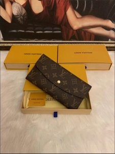 Free shipping Wholesale red bottoms lady long wallet multicolor designers coin purse Card holder original box women classic zipper pocke