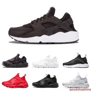 Wholesale Huarache 1.0 4.0 Mens Womens Running Shoes Triple White Black Red Grey Rose Gold Men Women Huaraches Trainer Sports Shoes Sneakers