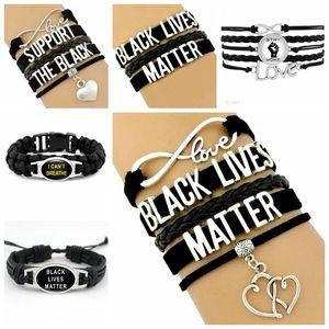 Biden main Bracelet ancre Charms Bracelets d'Amérique 2020 Election Bracelet en silicone USA Drapeau Wristband Bracelet Trump Party Anneau Faveur