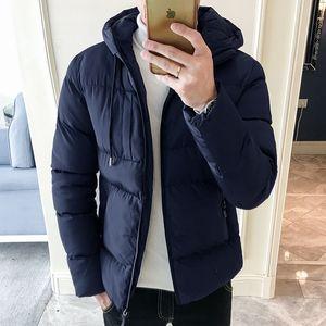 New Arrival Men Jacket Warm Cotton Male Jacket Slim Fit Men High Quality Male Zipper Warm Cotton-Padded