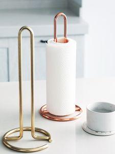 Nordic вертикальный металлический бумажный полотенцесушитель обеденный стол, держатель для туалетной бумаги кухня держатель стойки 12.4