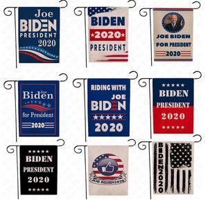 New Arrival Joe Biden President Garden Flag 2020 RIDING WITH JOE Banner America Presidential Political Campaign Vote Election Flags D62902